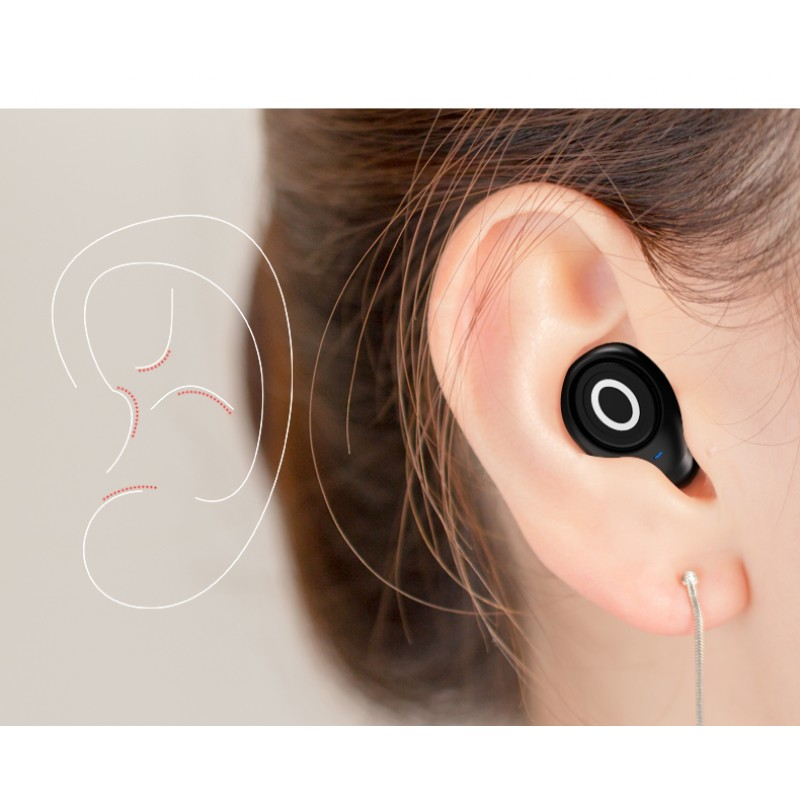 New mini style Bluetooth earphone - Unobstructed calls within 10 metres